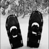 Snowshoes By the Door